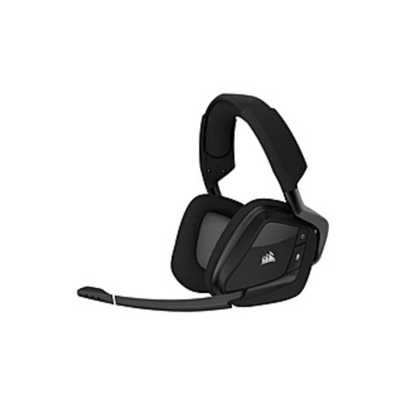 Corsair VOID PRO RGB Wireless Premium Gaming Headset - Stereo - Wireless - RF - 40 ft - 32 Kilo Ohm - 20 Hz - 20 kHz - Over-the-head - Binaural - Circ