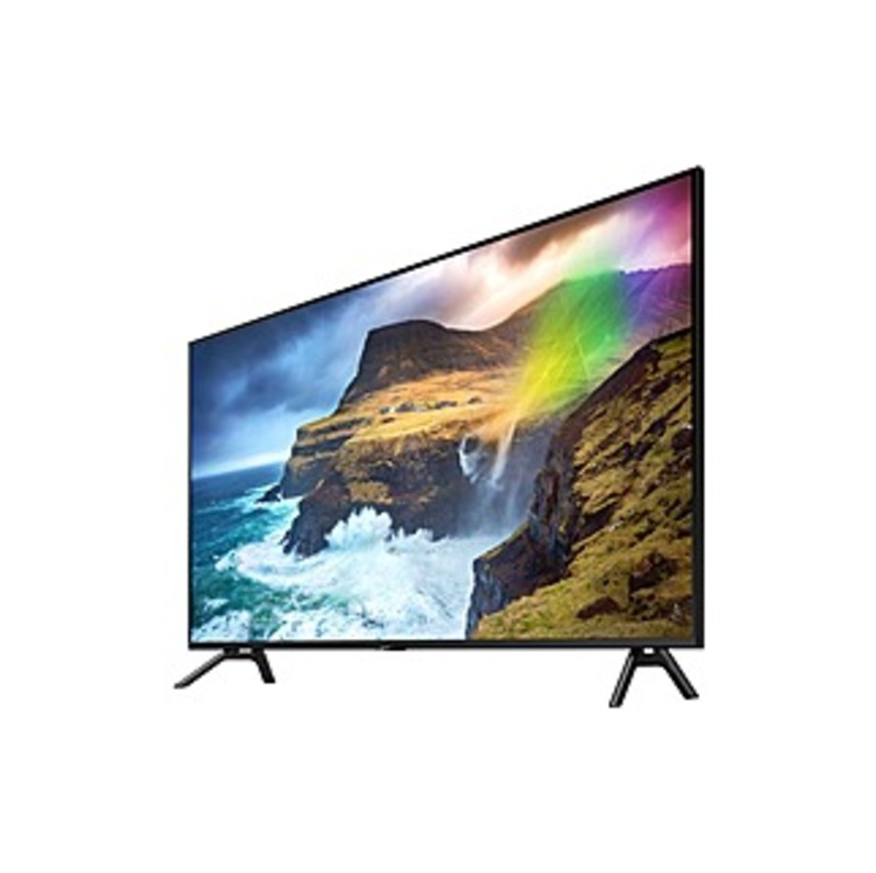 "Samsung Q70R QN82Q70RAF 81.5"" Smart LED-LCD TV - 4K UHDTV - Slate Black, Graphite Black - Direct Full Array 4x Backlight - Bixby, Google Assistant, Al"