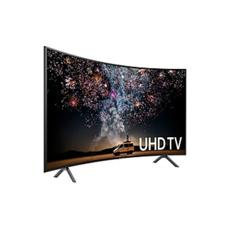 Samsung UN65RU7300F 65-inch 4K UHD HDR LED Smart Curved TV - 3840 x 2160 - Motion Rate 120 - Alexa, Google Assistant Supported - Wi-Fi - HDMI