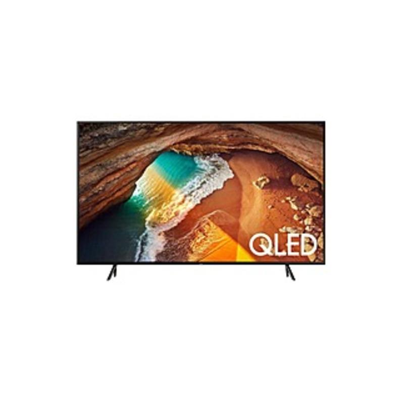 "Samsung Q60R QN82Q60RAF 81.5"" Smart LED-LCD TV - 4K UHDTV - Charcoal Black - Ultra Slim Array Backlight - Bixby, Google Assistant, Alexa Supported - T"