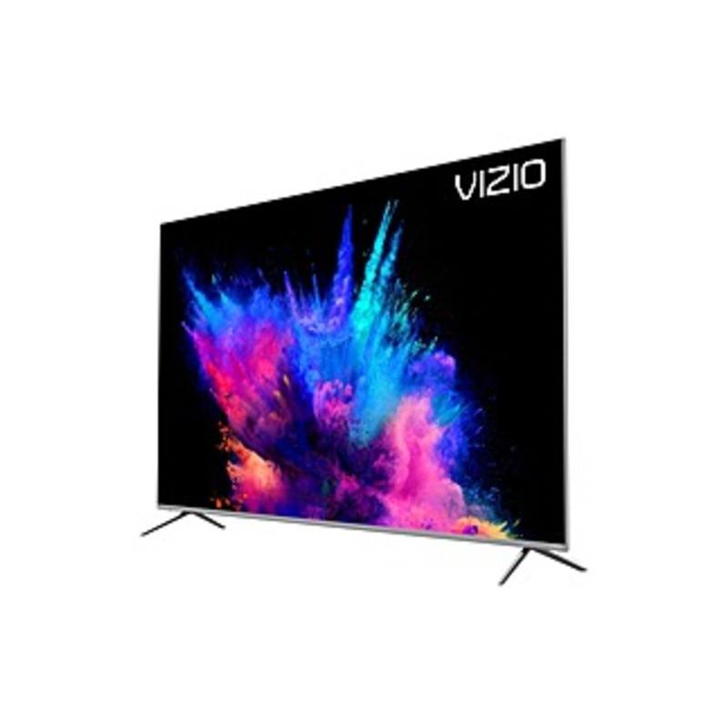 "VIZIO P P659-G1 64.5"" Smart LED-LCD TV - 4K UHDTV - Silver - Quantum Dot LED Backlight - Alexa, Google Assistant Supported"