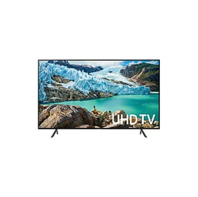 "Samsung RU7100 UN55RU7100F 54.6"" Smart LED-LCD TV - 4K UHDTV - Charcoal Black - Edge LED Backlight - Alexa, Google Assistant Supported - Tizen - Dolby"