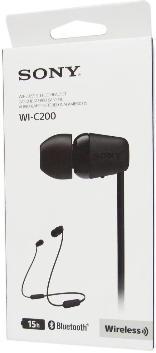 http://www.techforless.com - Sony WI-C200/B Wireless In-Ear Headphones – Bluetooth-5.0 – Driver Unit-0.35 Inch – Black 20.49 USD