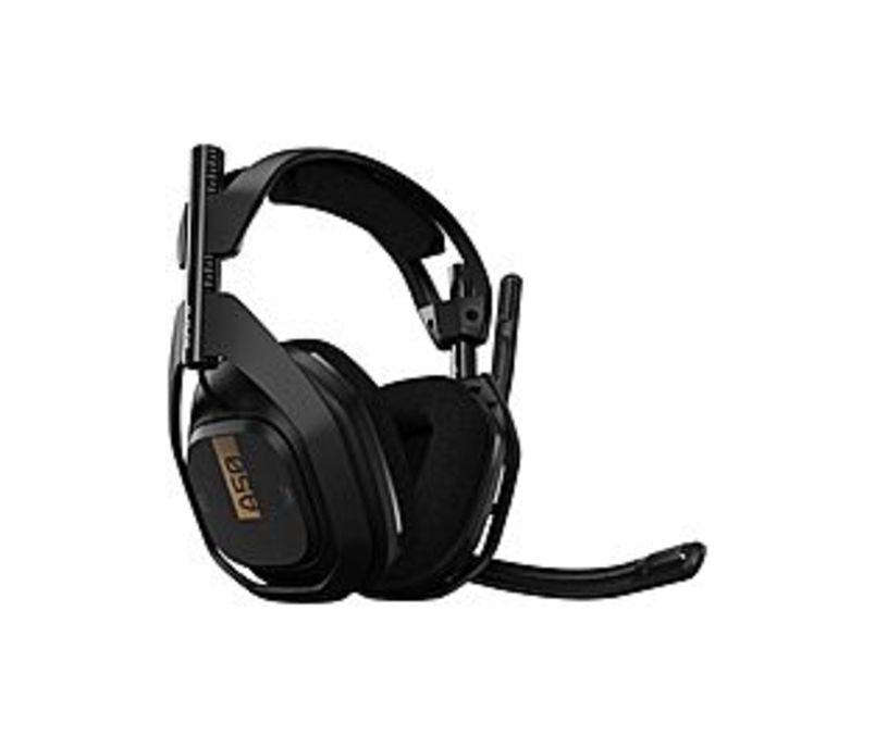 Astro A50 Wireless Headset with Lithium-Ion Battery - Stereo - Wireless - 30 ft - 20 Hz - 20 kHz - Over-the-head - Binaural - Circumaural - Uni-direct