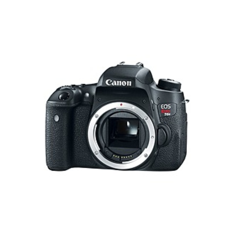Canon EOS Rebel T6s 24.2 Megapixel Digital SLR Camera Body Only - 3 Touchscreen LCD - 6000 x 4000 Image - 1920 x 1080 Video - HD Movie Mode - Wireles