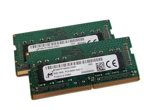 Micron 8GB DDR4 PC4-2400T 260pin So-Dimm Laptop Memory MTA8ATF1G64HZ-2G3E1