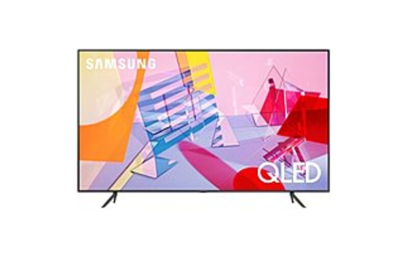 SAMSUNG Q60T Series QN65Q60TAF 65-Inch 4K UHD TV Smart LED TV - QLED - 2160p - Google Assistant - Titan Gray