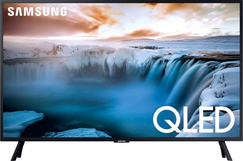 SAMSUNG Q50R QN32Q50RAF 32-Inch QLED 4K Smart TV - 2160p - HDR 10+ - Wi-Fi - Amazon Alexa - Google Assistant - Charcoal Black