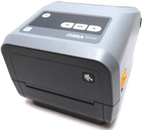 http://www.techforless.com - Zebra ZD420 Thermal Transfer Printer – Monochrome – Desktop – Label Print – 4.09″ Print Width – 5.98 in/s Mono – 203 dpi – Roll Fed, Fanfold, Die-cut 429.97 USD
