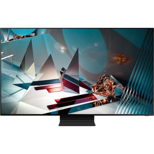 Samsung QN75Q800TAF Q800 75-Inch QLED 8K Smart TV 7680 x 4320 - HDR - Wi-Fi - Alexa - Google Assistant - Titan Black