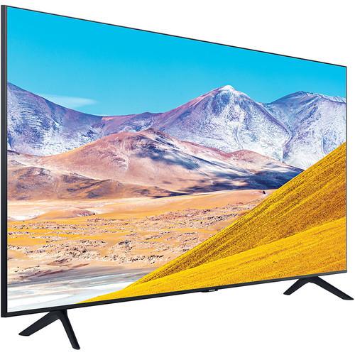 Samsung UN55TU8000F 55-Inch Crystal Ultra HD HDR 4K Smart TV 3840 x 2160 - 120MR - Wi-Fi - Bluetooth - Alexa - Google Assistant - Black