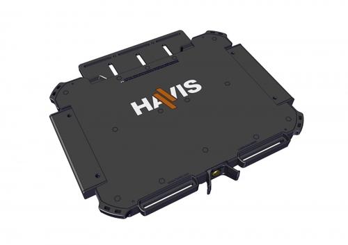 http://www.techforless.com - HAVIS UT-1002 Universal Rugged Cradle Base for 11-14-Inch Systems – Black 106.97 USD