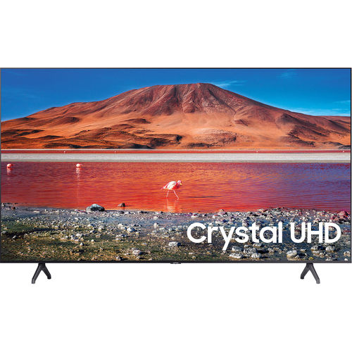 Samsung UN55TU7000 55-Inch Crystal HDR Ultra HD 4K Smart LED TV - 3840 X 2160 - 120MR - Amazon Alexa - Google Assistant - Bixby - Wi-Fi - Bluetooth -