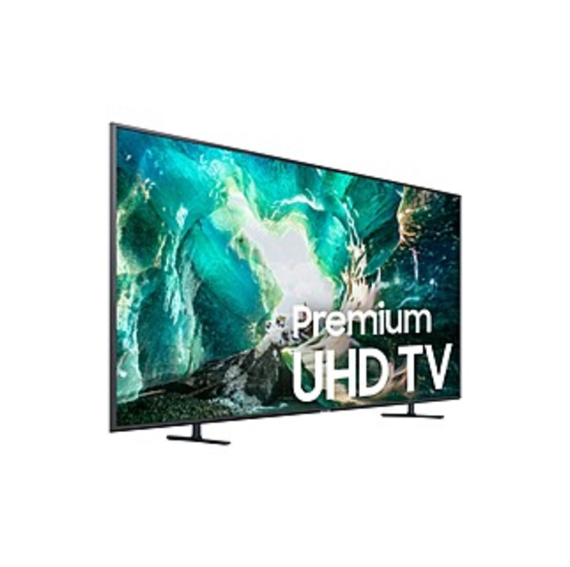 "Samsung RU8000 UN82RU8000F 81.5"" Smart LED-LCD TV - 4K UHDTV - Titan Gray - LED Backlight - Google Assistant, Alexa, Bixby Supported - Tizen - Dolby D"