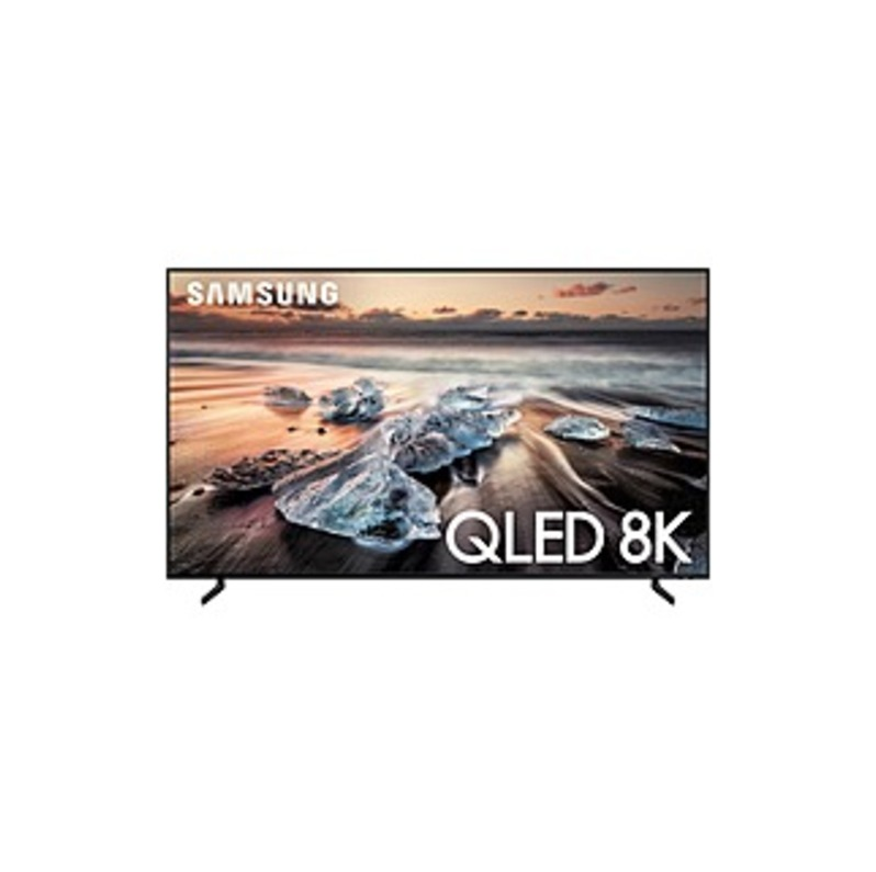 "Samsung Q900 QN65Q900RBF 64.5"" Smart LED-LCD TV - 8K UHD - Black - Direct Full Array 16x Backlight - Bixby Supported - Dolby, Dolby Digital"