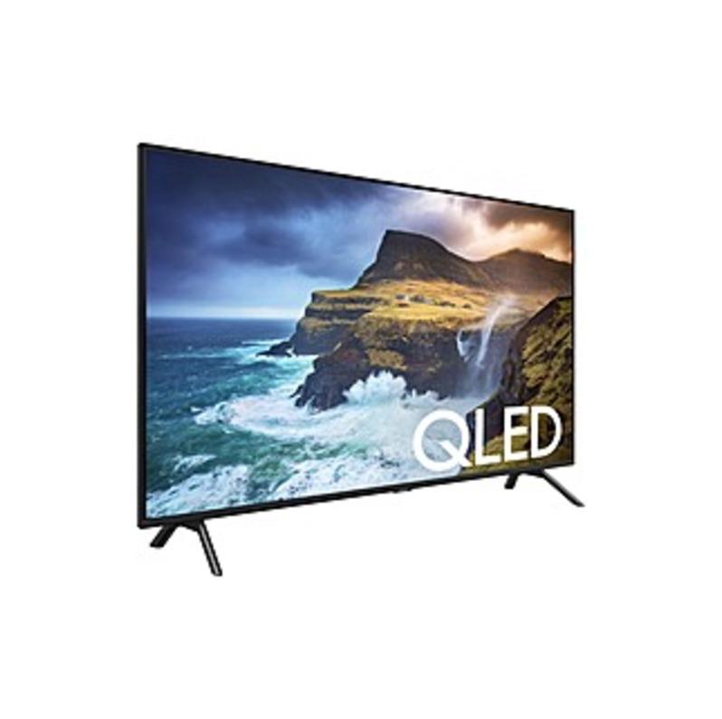"Samsung Q70R QN49Q70RAF 48.5"" Smart LED-LCD TV - 4K UHDTV - Slate Black, Graphite Black - Direct Full Array 4x Backlight - Alexa, Google Assistant, Bi"