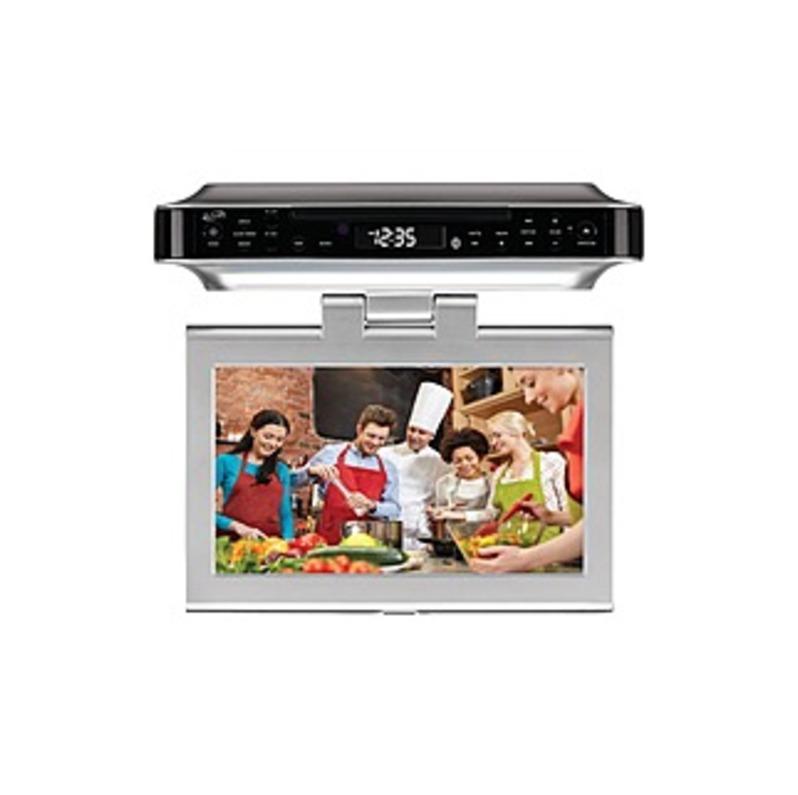 """iLive IKTD1037S 10"""" TV/DVD Combo - HDTV - 16:9 - 1024 x 600 - LED - ATSC - NTSC - 140° / 130° - HDMI - USB"""