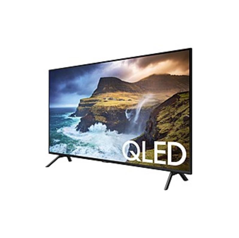 "Samsung Q70R QN85Q70RAF 84.5"" Smart LED-LCD TV - 4K UHDTV - Slate Black, Graphite Black - Direct Full Array 4x Backlight - Bixby, Alexa, Google Assist"