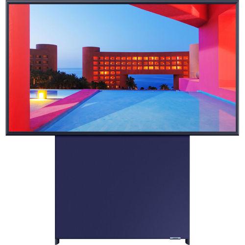 Samsung QN43LS05TA 43-Inch Class The Sero 4K Ultra HD HDR QLED Smart TV - 3840 x 2160 - 120 MR - 16:9 - HDMI -Wi-Fi - Alexa - Google Assistant - Navy