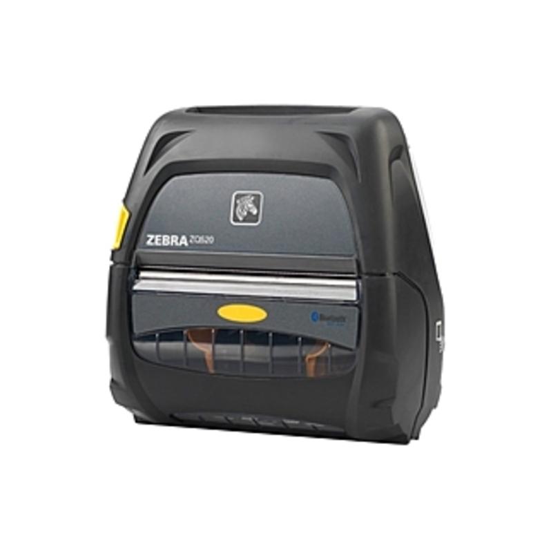 http://www.techforless.com - Zebra ZQ520 Direct Thermal Printer – Monochrome – Portable – Receipt Print – 4.09″ Print Width – 5 in/s Mono – 230 dpi – 512 MB – Bluetooth – USB – Re 555.49 USD