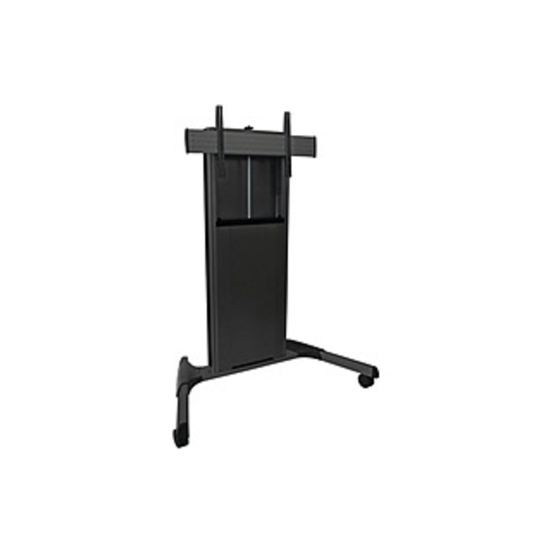 http://www.techforless.com - Chief X-Large Fusion Manual Height Adjustable Cart – 300 lb Capacity – 4 Casters – 44″ Width x 14″ Depth x 75″ Height – Black – For 1 Devices 1060.97 USD