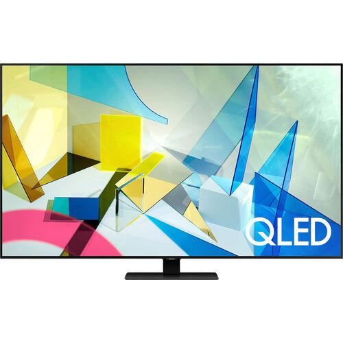 Samsung QN50Q80TAF 50-Inch Class Q80T 4K Ultra HD HDR QLED Smart TV - 3840 x 2160 - 120 MR - 16:9 - HDMI - Wi-Fi - Bluetooth - Alexa - Google Assistan
