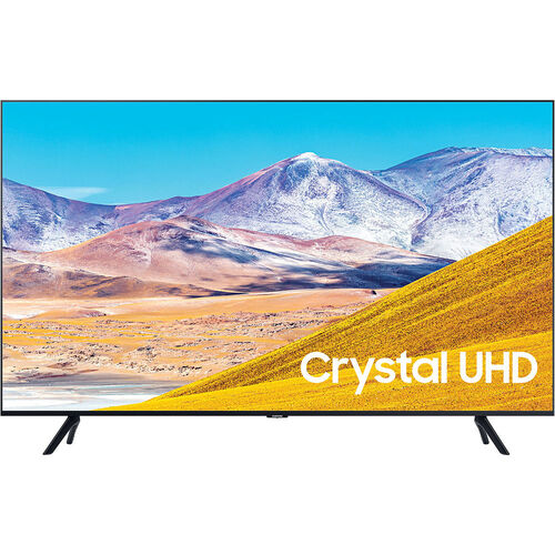 http://www.techforless.com - Samsung UN85TU8000 85-Inch Crystal 4K Ultra HD HDR Smart LED TV – 3840 x 2160 – 120MR – Wi-Fi – Bluetooth – Alexa – Google Assistant – Black 1948.49 USD