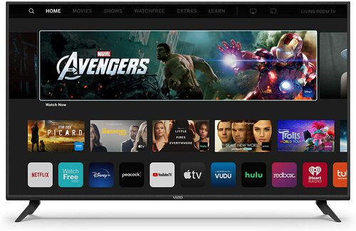 VIZIO V-Series V435-H11 43-Inch Class 4K Ultra HD HDR Smart LED TV - 3840 x 2160 - VIZIO SmartCast - 16:9 - 200K:1 - Wi-Fi - Amazon Alexa - Google Ass