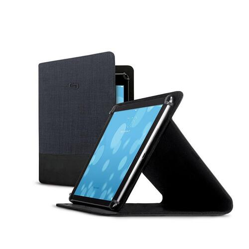 http://www.techforless.com - SOLO UNL2022-4 Velocity Universal Tablet Case – 8.5 to 11 Inch Tablets – Black and Navy 28.49 USD