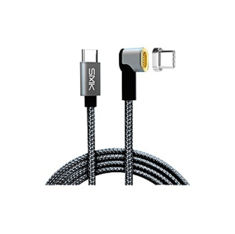 http://www.techforless.com - SMK-Link USB-C MagTech Charging Cable – For USB Type C Device – 5 V DC – Black – 6.50 ft Cord Length 29.49 USD