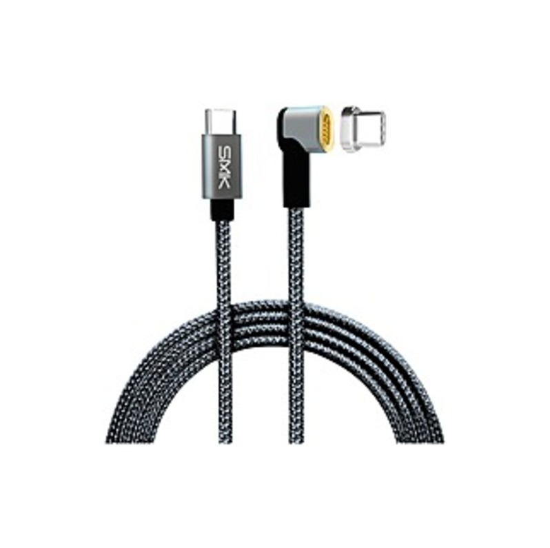 http://www.techforless.com - SMK-Link USB-C MagTech Charging Cable – For USB Type C Device – 5 V DC – Space Gray – 6.50 ft Cord Length 30.49 USD
