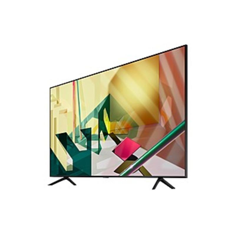 "Samsung Q70T QN75Q70TAF 74.5"" Smart LED TV - 4K UHDTV - Black - Quantum Dot LED Backlight - Bixby, Google Assistant, Alexa Supported - 3840 x 2160 Res"