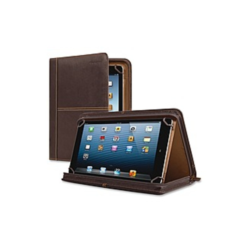 http://www.techforless.com - Solo Executive Carrying Case (Portfolio) for 8.5″ to 11″ Digital Text Reader – Espresso – Full Grain Leather Body – 10.5″ Height x 8.3″ Width x 1.3″ D 59.97 USD