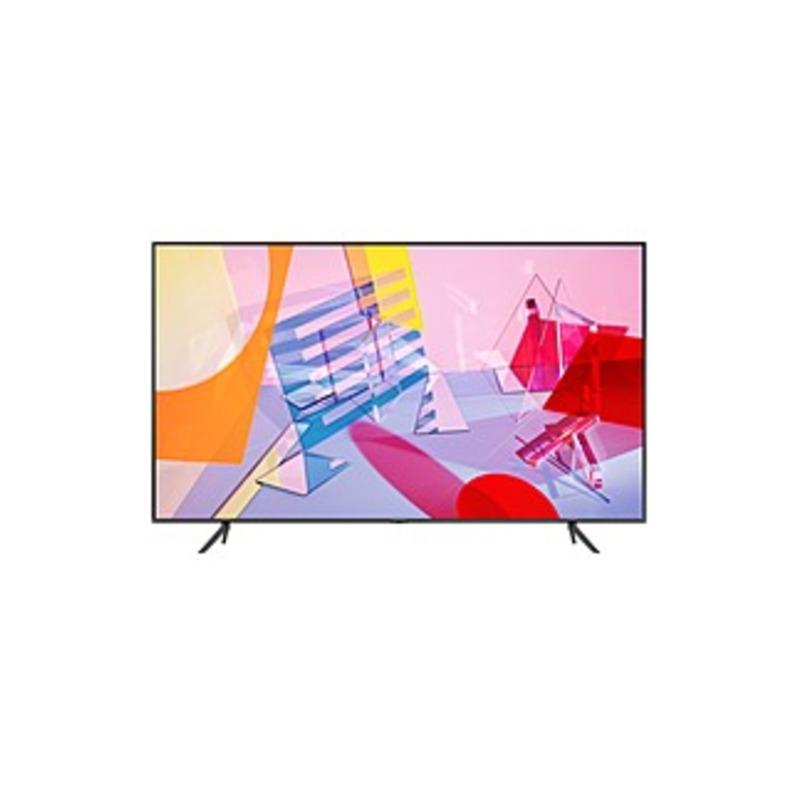 "Samsung Q60T QN55Q60TAF 54.6"" Smart LED TV - 4K UHDTV - Titan Gray - Quantum Dot LED Backlight - Bixby, Google Assistant, Alexa Supported - 3840 x 216"