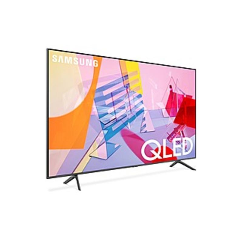 "Samsung Q60T QN50Q60TAF 49.5"" Smart LED TV - 4K UHDTV - Titan Gray - Quantum Dot LED Backlight - Bixby, Google Assistant, Alexa Supported - 3840 x 216"