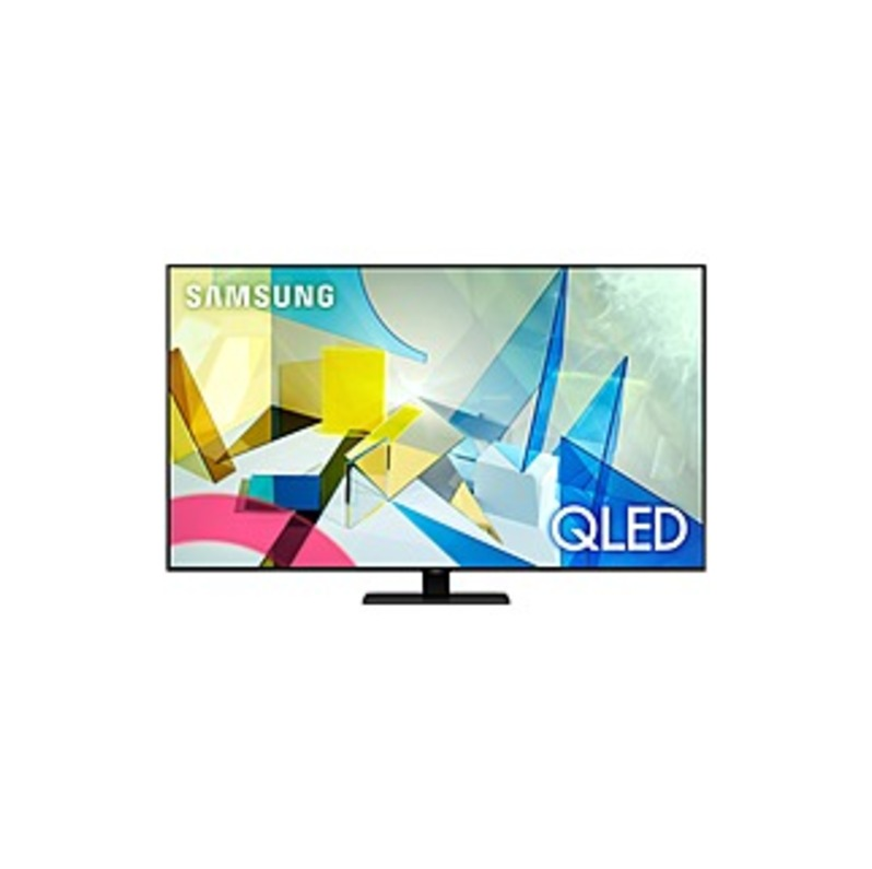 "Samsung QN85Q80TAF 84.5"" Smart LED TV - 4K UHDTV - Titan Black - Quantum Dot LED Backlight - Bixby, Google Assistant, Alexa Supported - 3840 x 2160 Re"