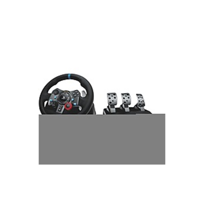 Logitech G29 Driving Force Racing Wheel For Playstation 3 And Playstation 4 - Cable - USB - PlayStation 3, PlayStation 4, PC - Black