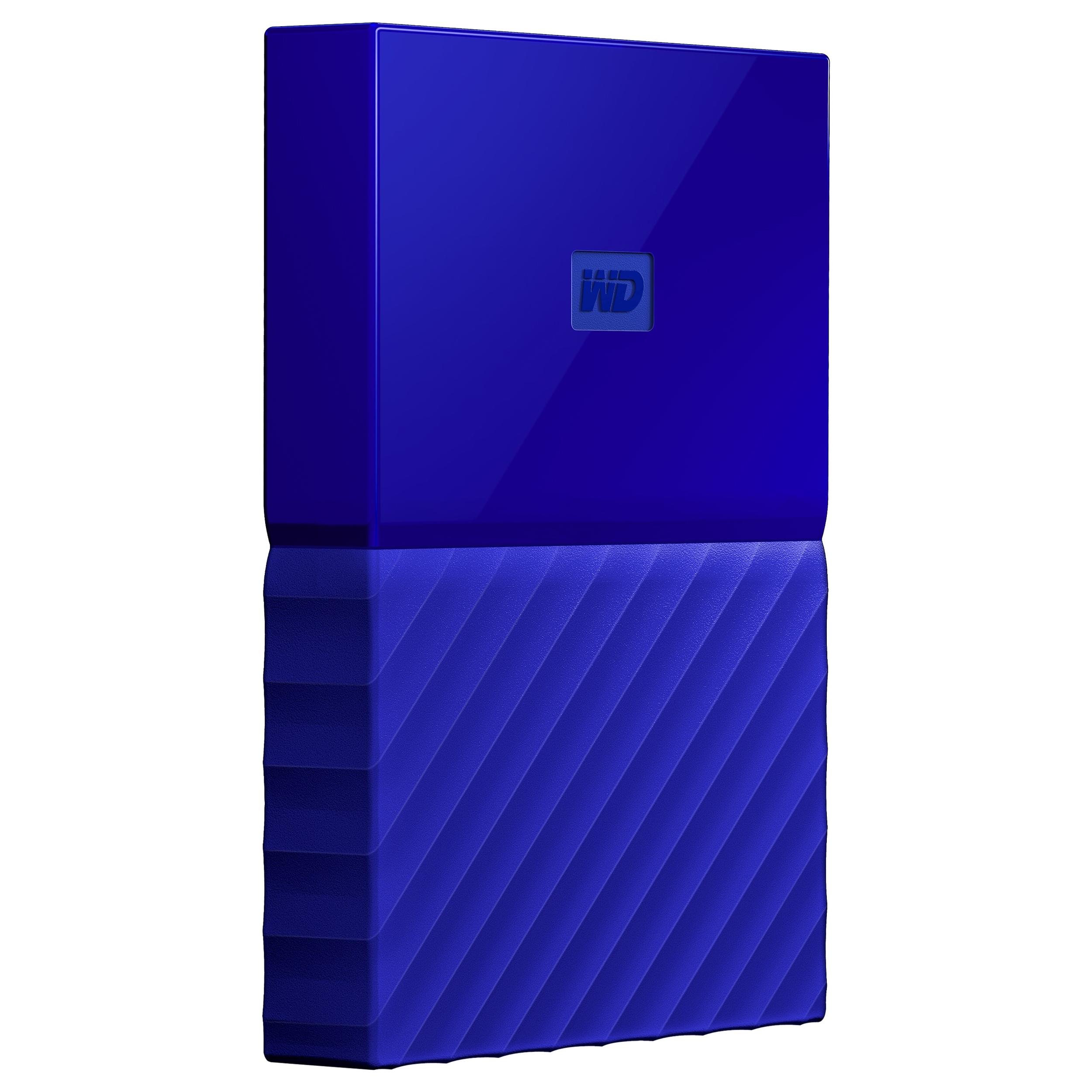 WD My Passport WDBYFT00BBL-WESN 2 TB External Hard Drive - USB 3.0 - Portable 6