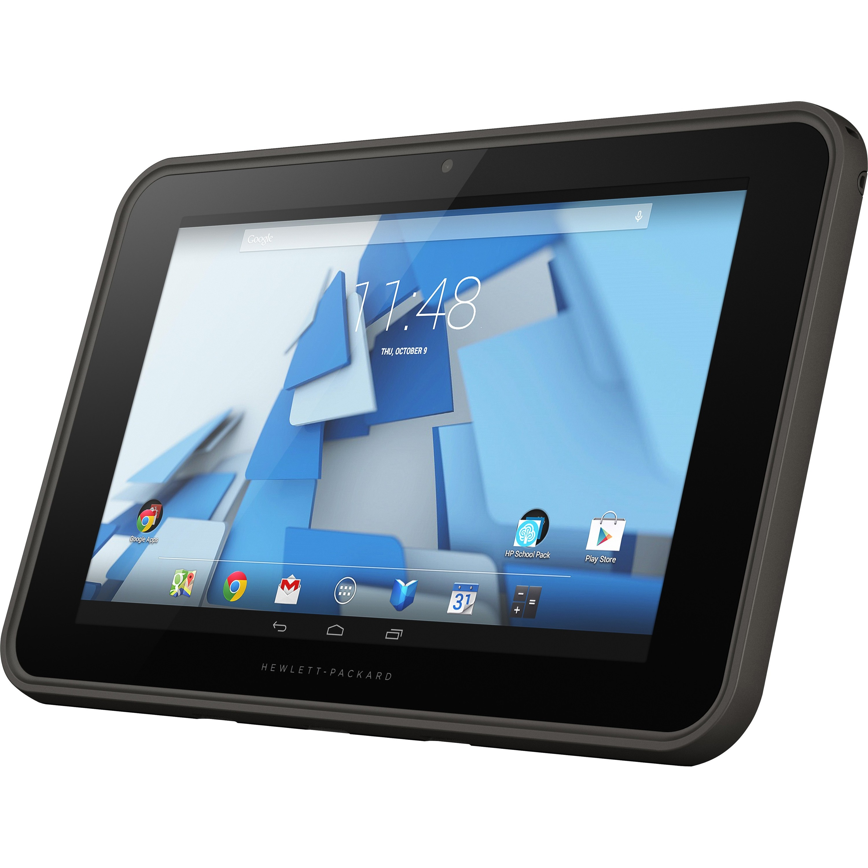 """HP Pro Slate 10 10.1"""" 32 GB Android Tablet Lava Gray-Refurb"""